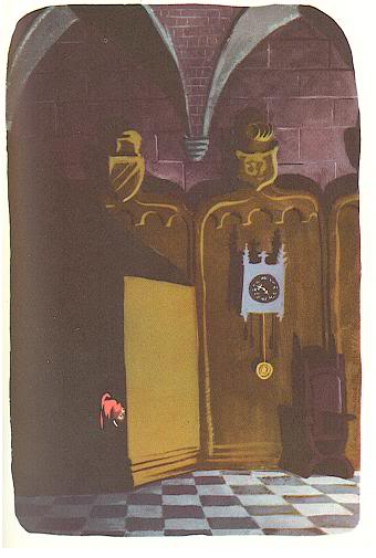 Illustration by Marc Simont from The 13 Clocks